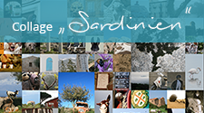 Sardinien-Collage (Panorama)