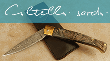 Coltello sardo (Damast)